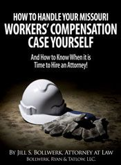 HOW TO HANDLE YOUR MISSOURI WORKER'S COMPENSATION CASE YOURSELF...AND HOW TO KNOW WHEN IT IS TIME TO HIRE AN ATTORNEY!
